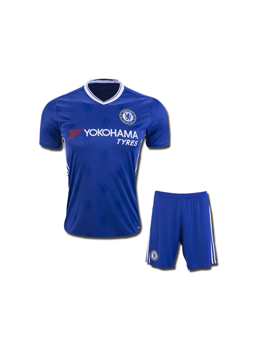 714155a55 KIDS Chelsea Football Jersey And Shorts Home 16 17 Season - Zeal Evince  Merchandise
