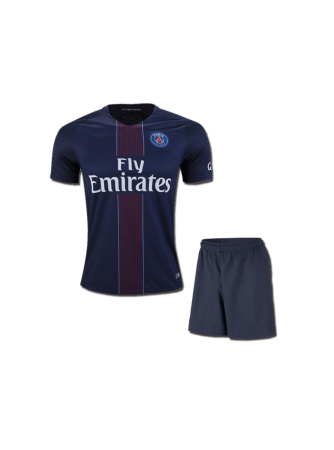 Kids-PSG-Football-Jersey-And-Shorts-Home-16-17S