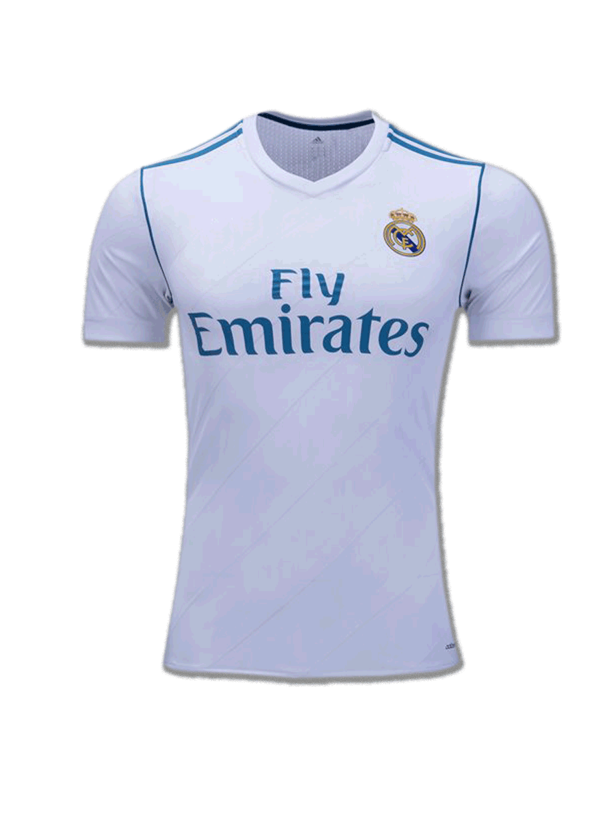 Real Madrid Football Jersey Home 17 18 Season Zeal Evince Merchandise Atletico 2017 2018
