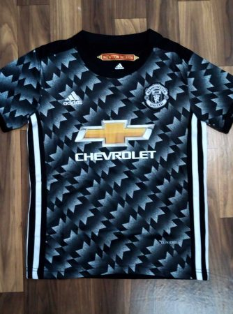 Kids-Manchester-United-Football-Jersey-Away-17-18-Season-Front