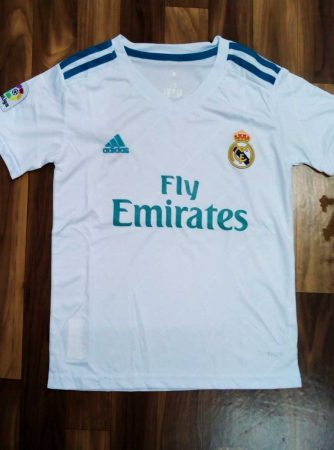 Kids-Real-Madrid-Football-Jersey-Home-17-18-Season-front