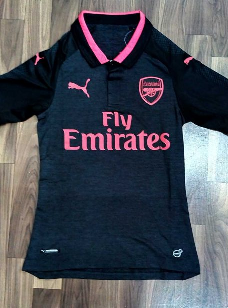 Arsenal-Football-Jersey-3rd-Kit-17-18-Season-Player-Edition-Front