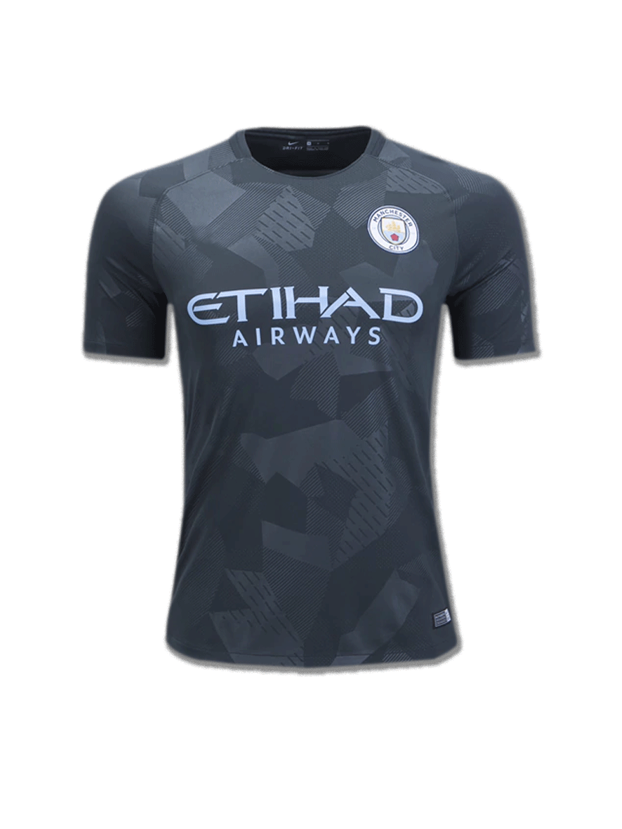 Manchester City Football Jersey 3rd Kit 17 18 Season Premium - Zeal ... bf8c9f77e