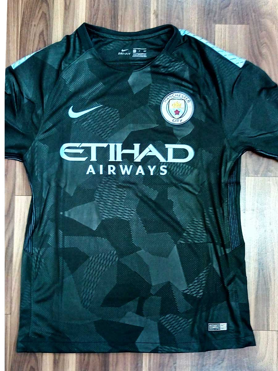 Manchester City Football Jersey 3rd Kit 17 18 Season Premium - Zeal ... 4371e69c5044