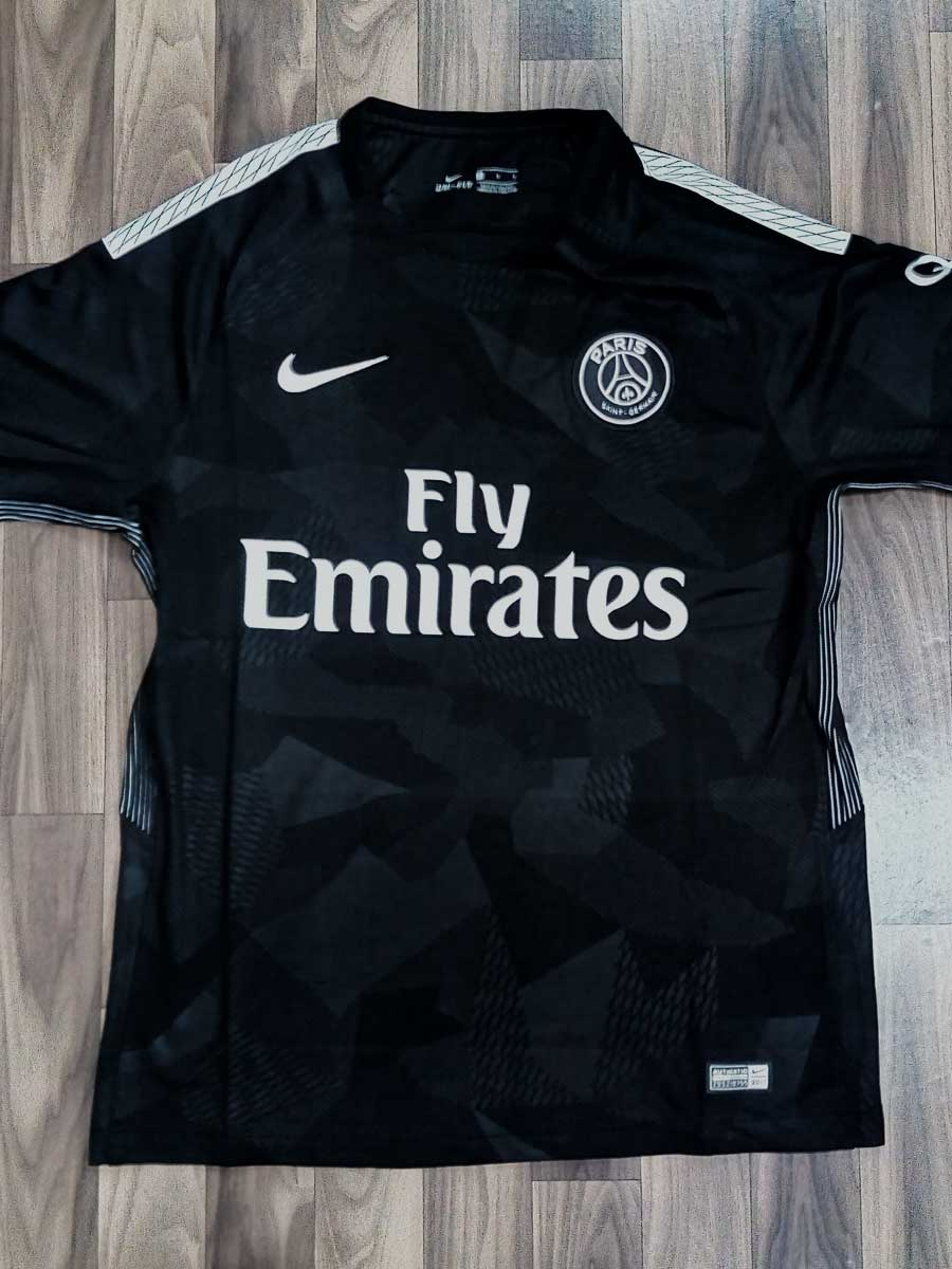 26a449bb0 PSG Football Jersey 3rd Kit 17 18 Season Premium - Zeal Evince ...