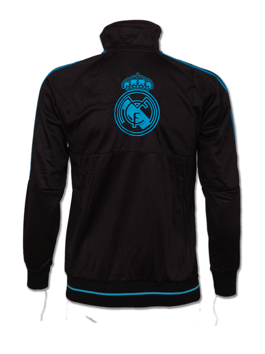 official photos fa2a4 9d64a Real Madrid FC Training Jacket Color Black