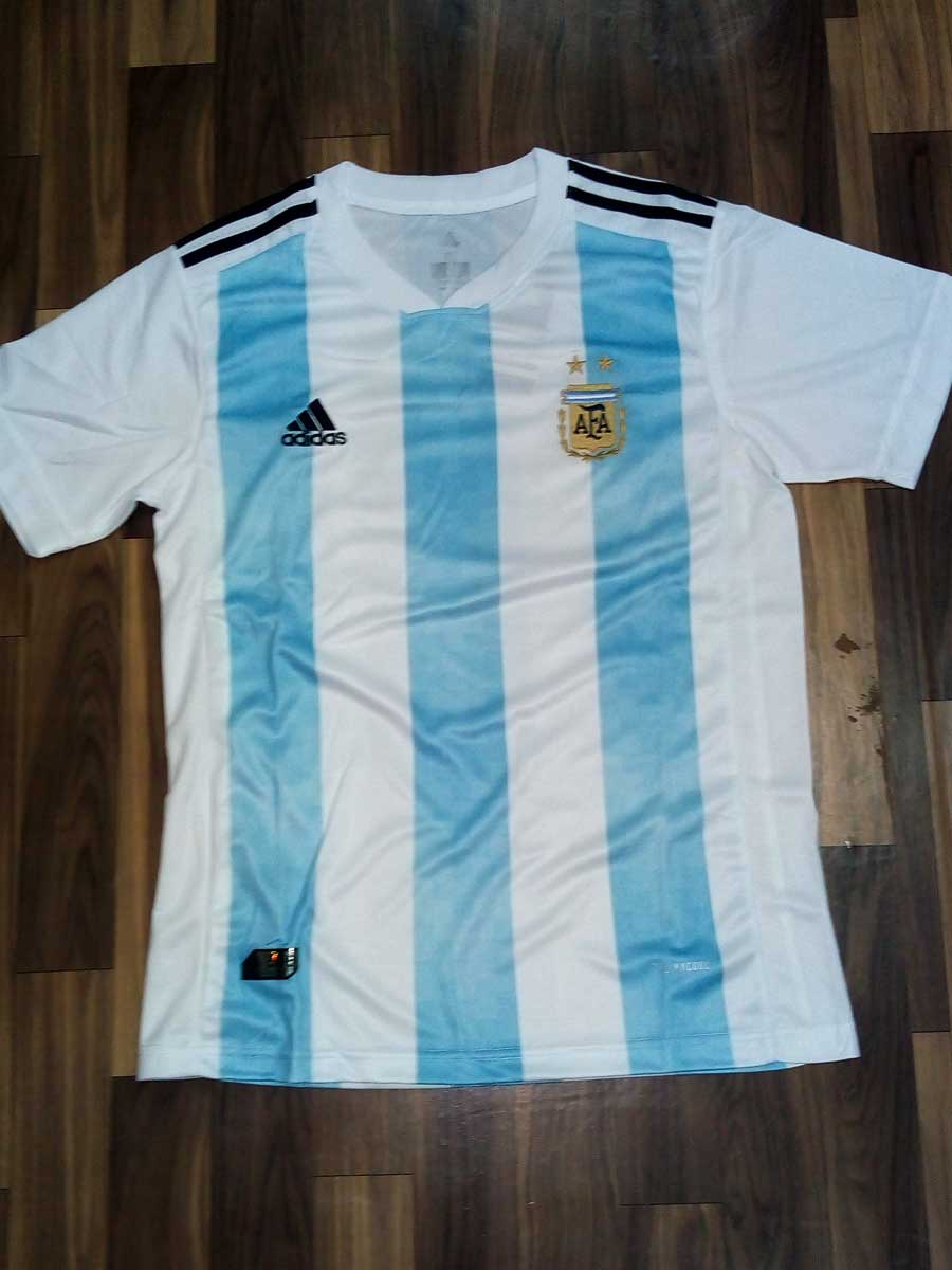 e9fba20c7fc Argentina Football Jersey Home For 2018 FIFA World CUP - Zeal Evince ...