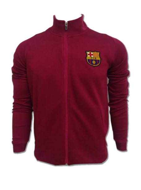 Barcelona FC Premium Quality Winter Jacket Color Red