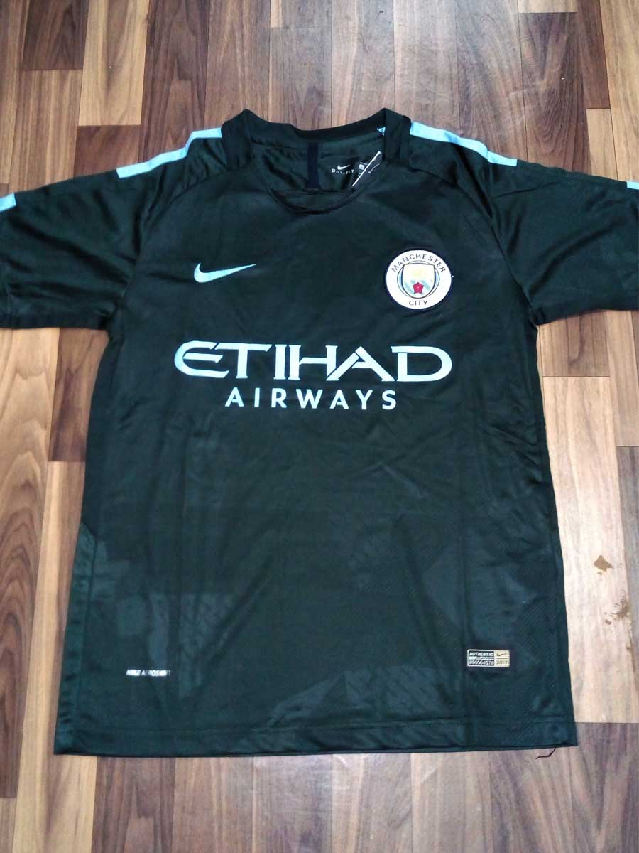 0a23dee6d1317 Manchester City Football Jersey 3rd Kit 17 18 Season - Zeal Evince ...