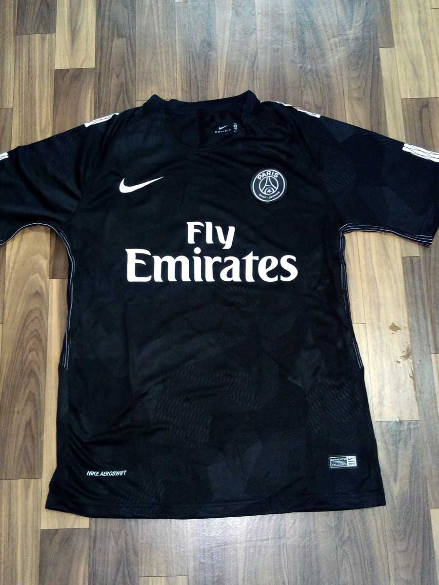 new concept c0d2f 8a220 PSG Football Jersey 3rd Kit 17 18 Season