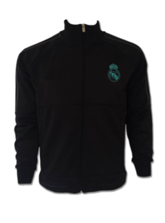 Real Madrid FC Premium Quality Winter Jacket Black Color