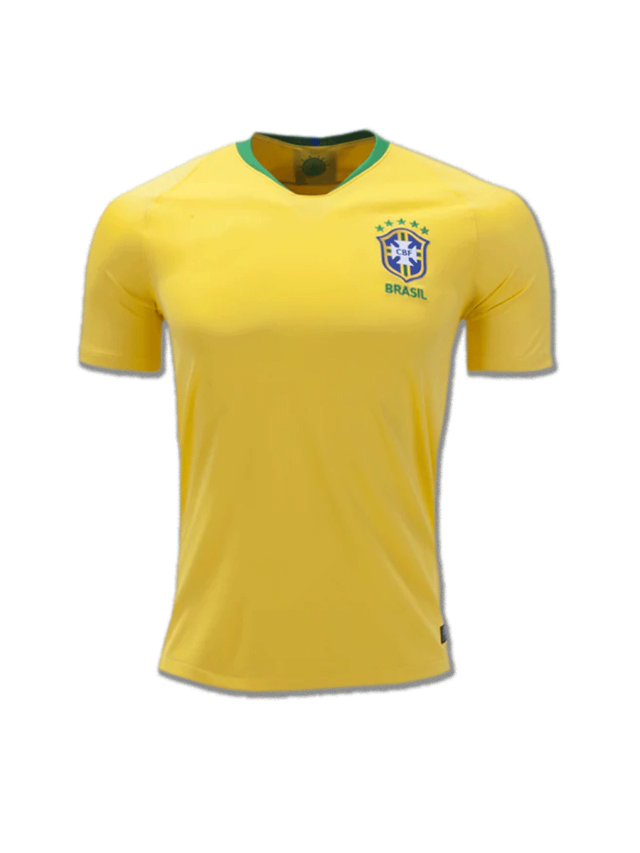 e98ef3b63 Brazil Football Jersey Home For 2018 FIFA World CUP Premium Quality ...