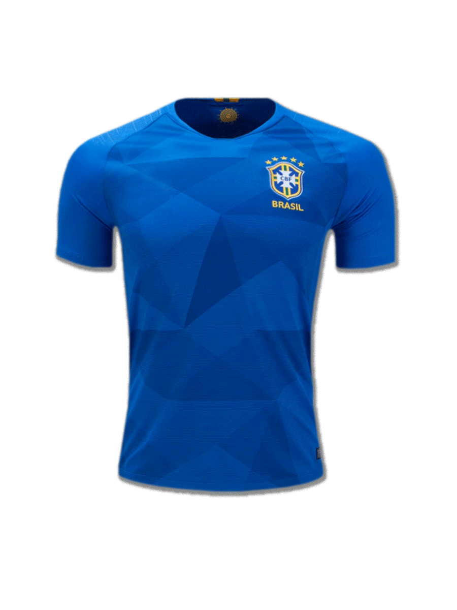 56dcd3164 Brazil Football Jersey Away For 2018 FIFA World CUP Premium Quality ...