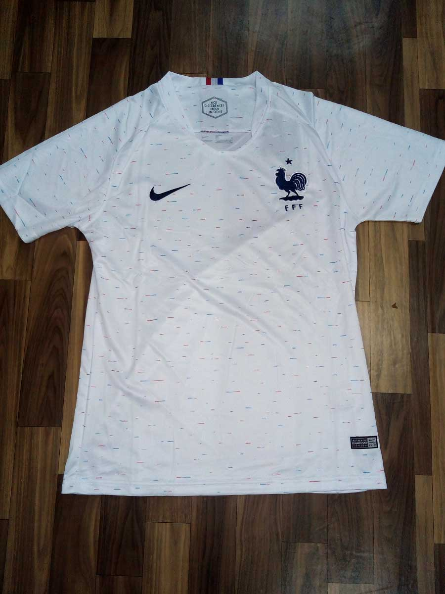 best website c1ca9 c591a France Football Jersey Away For 2018 FIFA World CUP Premium Quality