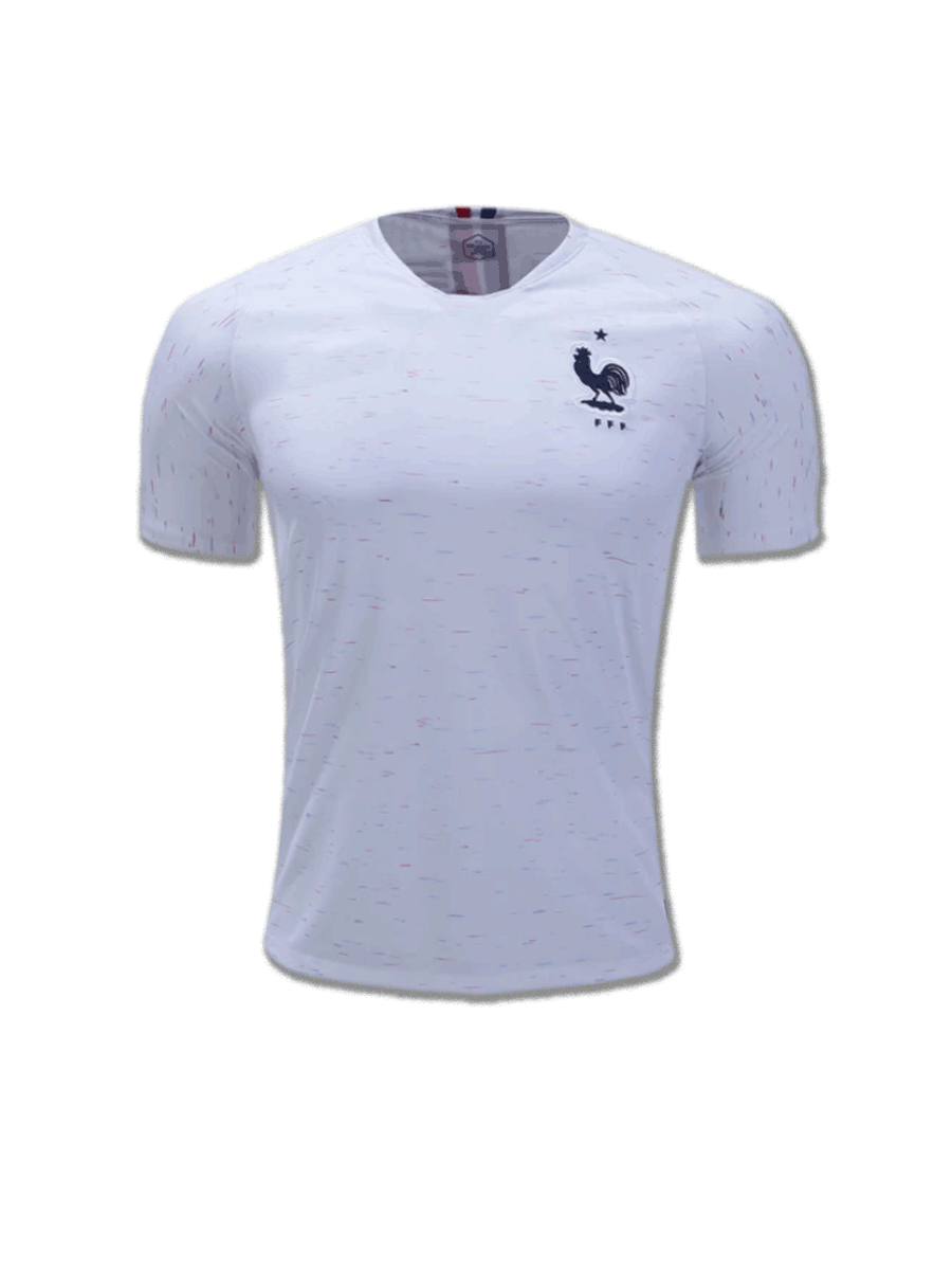 28ef5935f France Football Jersey Away For 2018 FIFA World CUP Premium Quality ...
