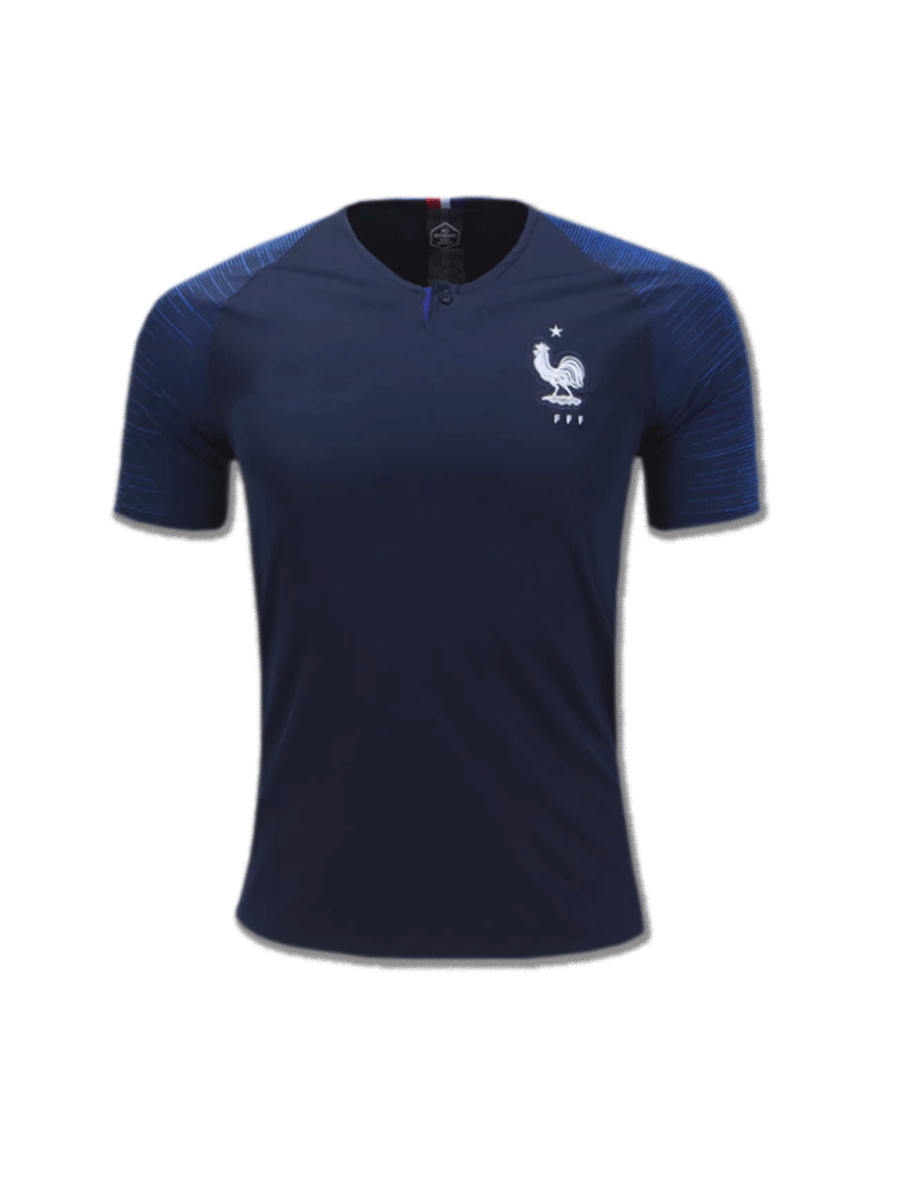73c2316aa France Football Jersey Home For 2018 FIFA World CUP Premium Quality ...