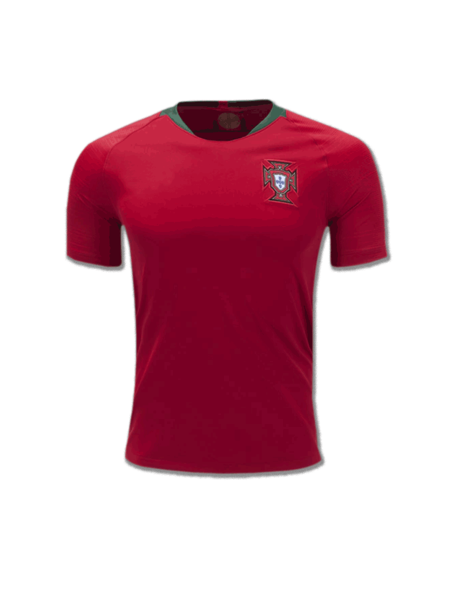 Portugal Football Jersey Home For 2018 FIFA World CUP Premium ... 7b8714b9a511