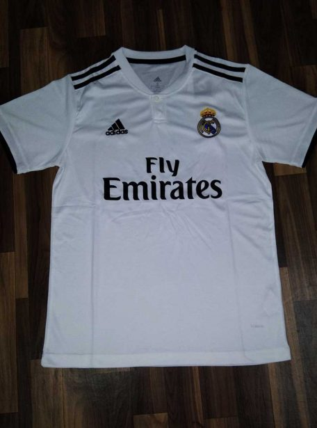 Real-Madrid-Football-Jersey-Home-18-19-Season-Front