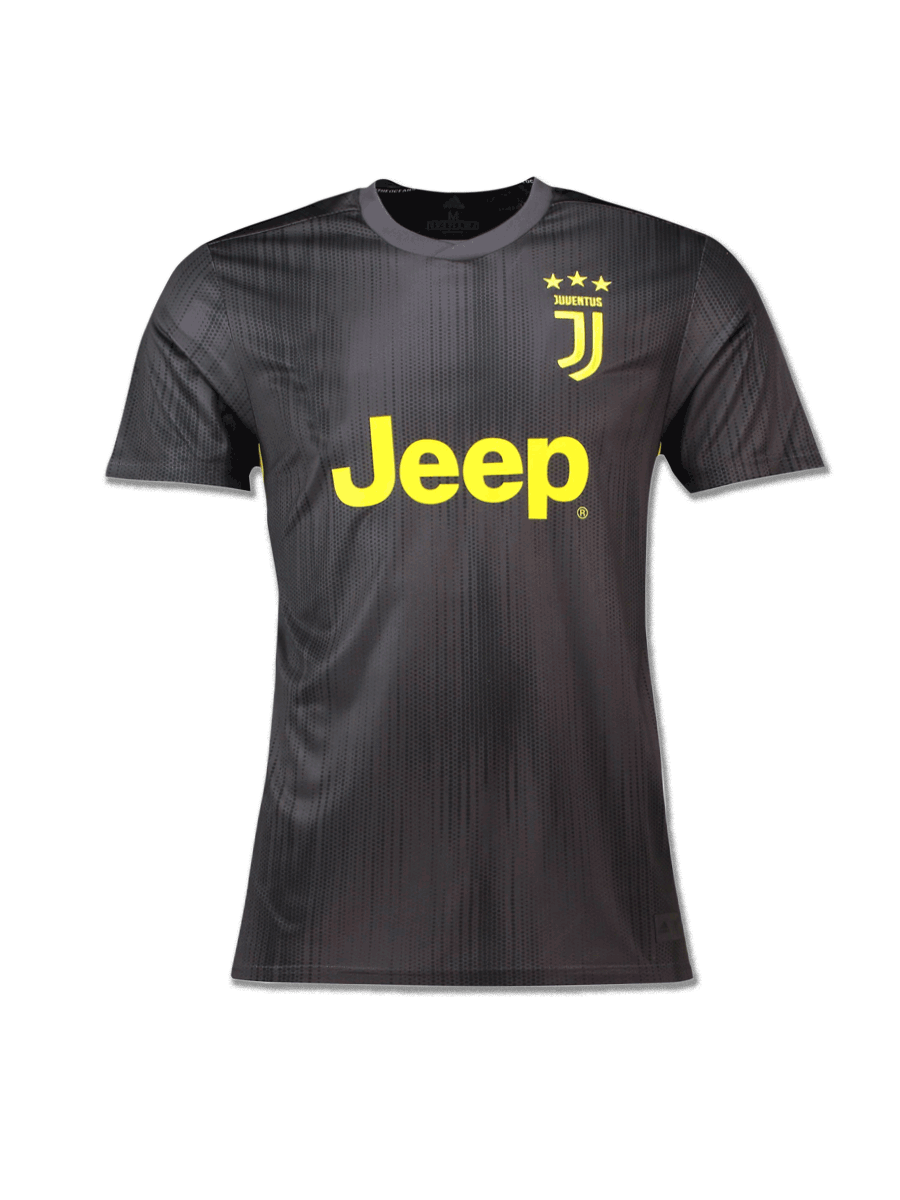 746842ed8 Juventus Football Jersey 3rd Kit 18 19 Season Premium - Zeal Evince ...