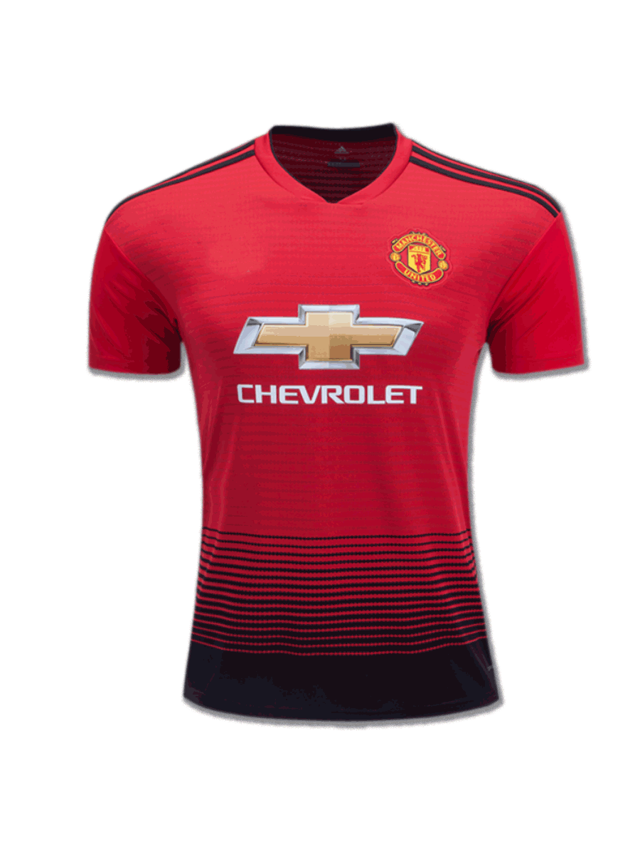57dc1340b Manchester United Football Jersey Home 18 19 Season Premium - Zeal ...