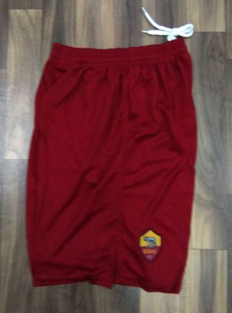 AS-Roma-Football-Jersey-And-Shorts-Home-18-19-Season-Shorts