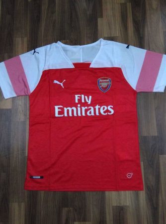 Arsenal-Football-Jersey-And-Shorts-Home-18-19-Season-Front