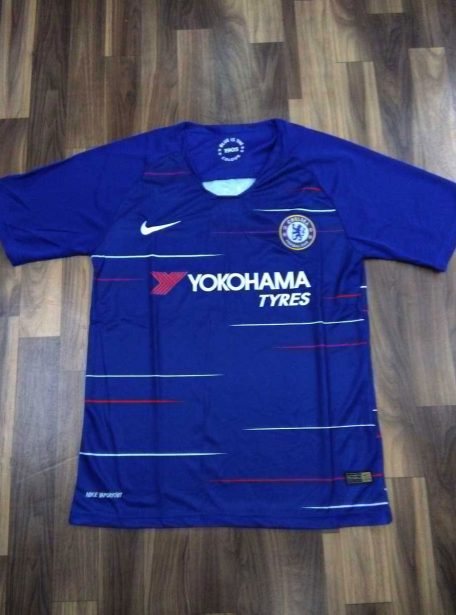 Chelsea-Football-Jersey-And-Shorts-Home-18-19-Season-Front