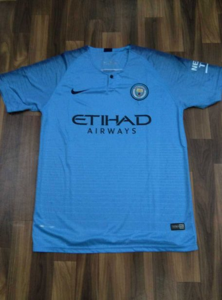 Manchester-City-Football-Jersey-And-Shorts-Home-18-19-Season-Front
