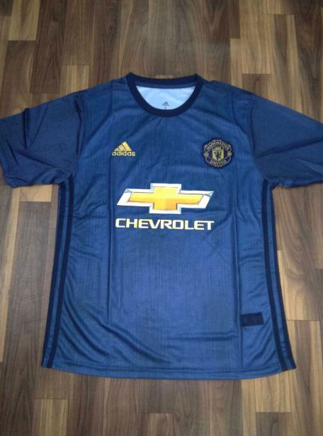 Manchester-United-Football-Jersey-And-Shorts-3rd-Kit-18-19-Season-Front