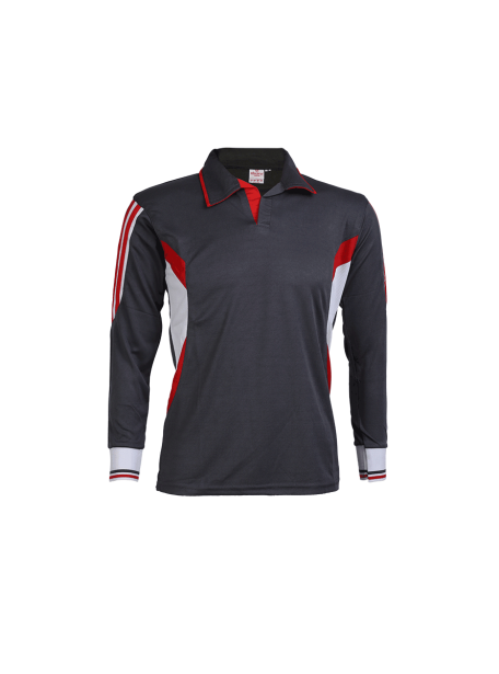 Black-Color-Long-Sleeve-Sports-Jersey-Design-Front