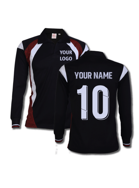 Black-Multi-Color-Long-Sleeve-Sports-Jersey-Design-Front-Back