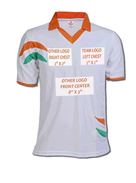 b9f4d4f29 Indian Cricket Jersey Design - Zeal Evince Merchandise