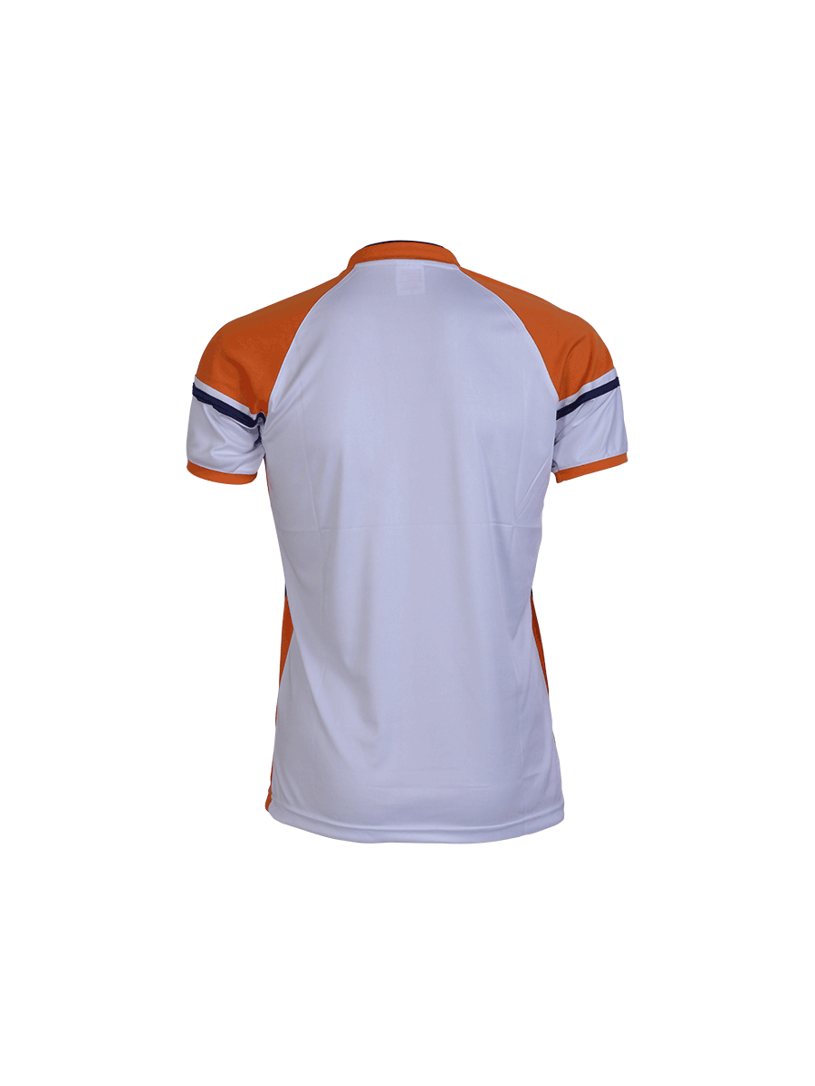 104eba33d White Multi Color Cricket Jersey Design - Zeal Evince Merchandise