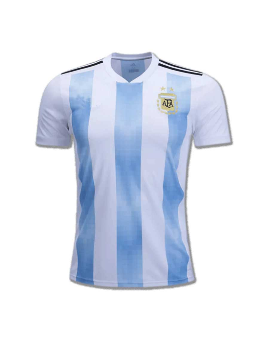 8017972a9dd Argentina Football Jersey Home For 2018 FIFA World CUP - Zeal Evince ...