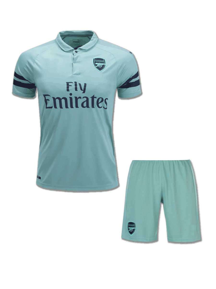 cea843837 Arsenal Football Jersey And Shorts 3rd Kit 18 19 Season - Zeal ...
