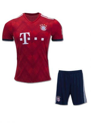 Bayern-Munich-Football-Jersey-And-Shorts-Home-18-19-Season
