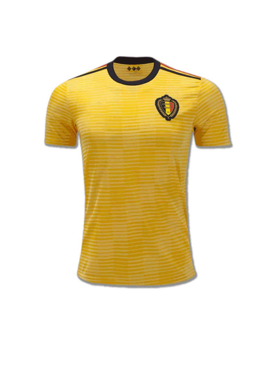 c4367f4debe Belgium Football Jersey Away For 2018 FIFA World CUP Premium Quality ...
