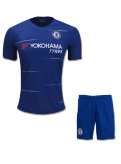 Chelsea-Football-Jersey-And-Shorts-Home-18-19-Season