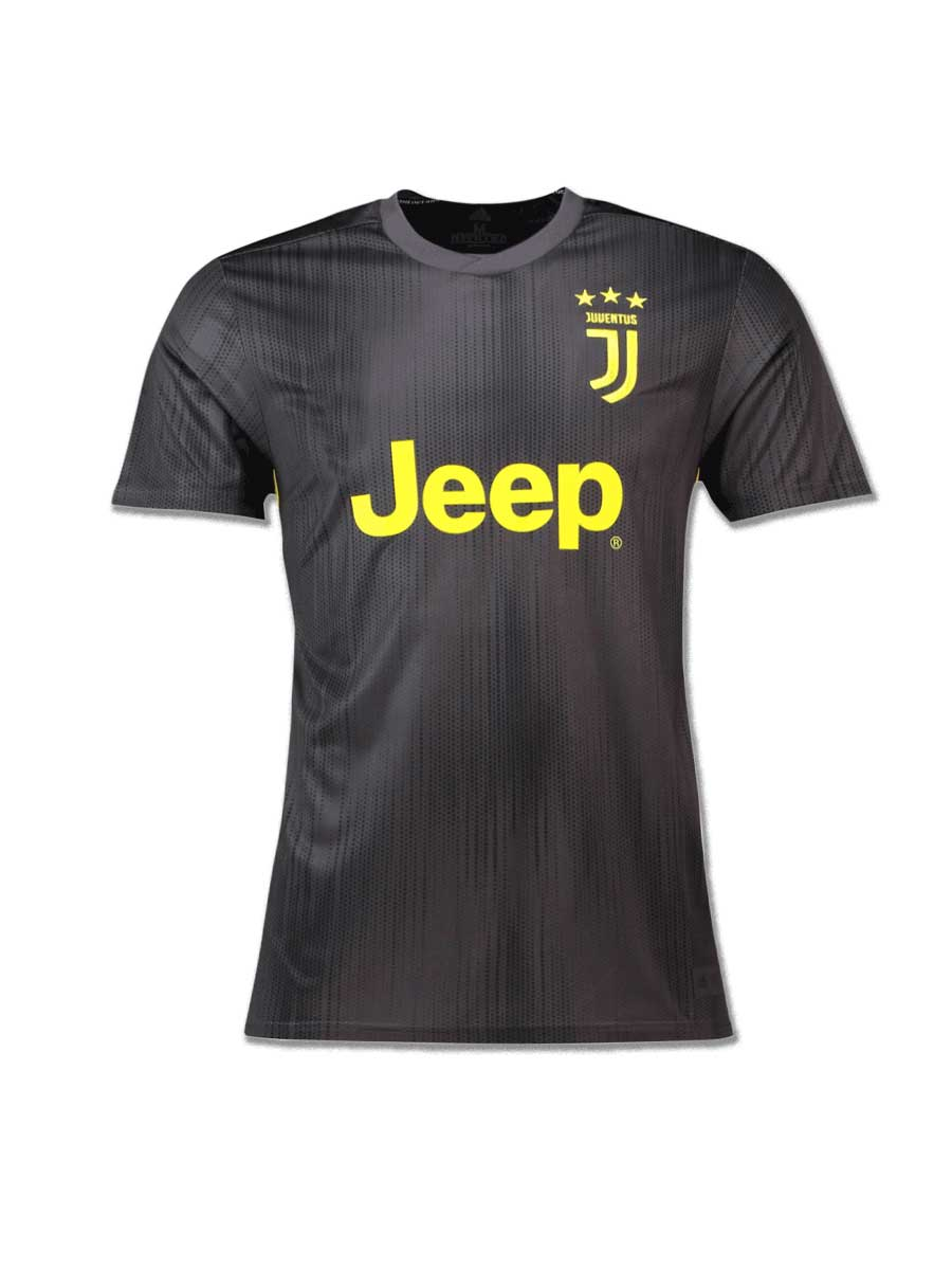 best website 8fc1b 2b757 Juventus Football Jersey 3rd Kit 18 19 Season Premium