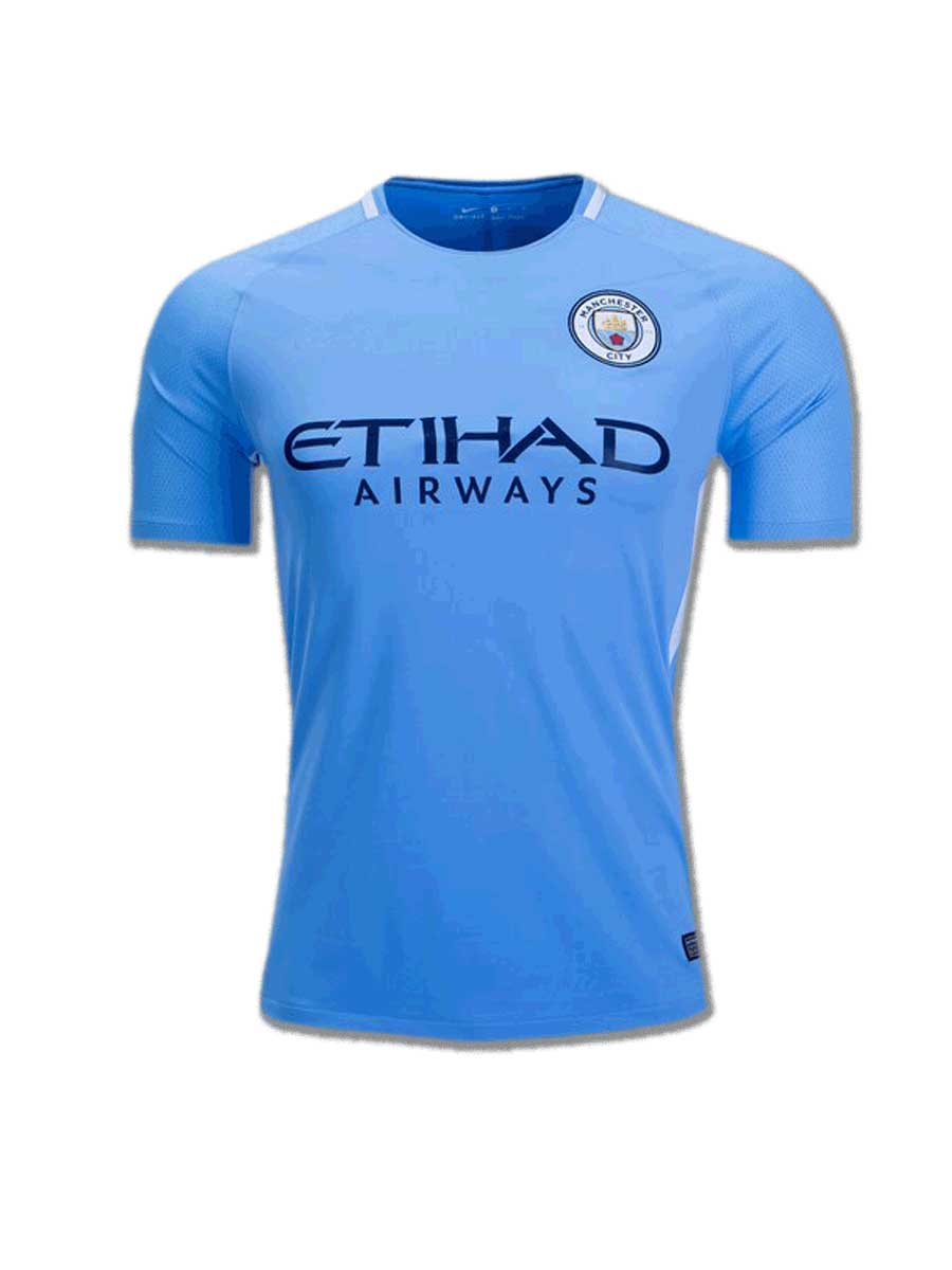 90a5071b770b9 Manchester City Football Jersey Home 17 18 Season - Zeal Evince ...
