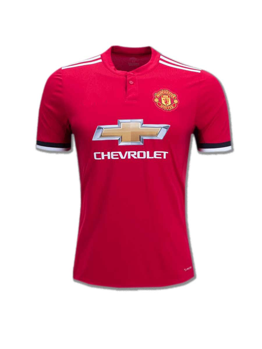 ffb0d40b4f2 Manchester United Football Jersey Home 17 18 Season - Zeal Evince ...