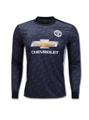 Manchester-United-Long-Sleeves-Football-Jersey-Away-17-18-Season