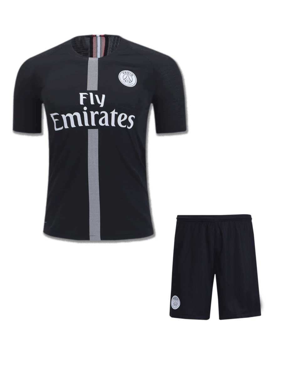 promo code 72468 31851 PSG Football Jersey And Shorts 3rd Kit Design 2 18 19 Season