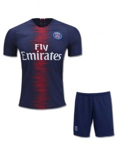 PSG-Football-Jersey-And-Shorts-Home-18-19-Season