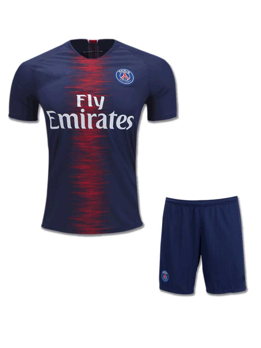 c3b0a0684 PSG Football Jersey And Shorts Home 18 19 Season - Zeal Evince ...