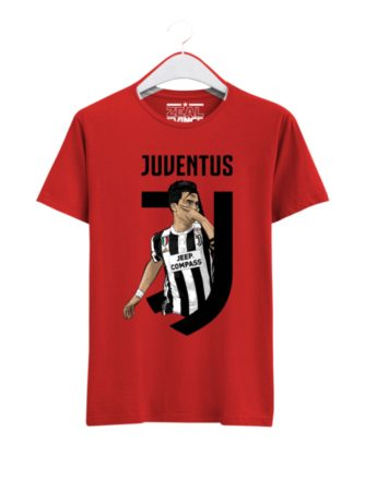 Juventus-Paulo-Dybala-01-T-Shirt-Men-Red