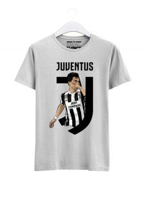 Juventus-Paulo-Dybala-01-T-Shirt-Men-White
