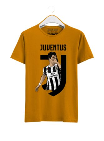 Juventus-Paulo-Dybala-01-T-Shirt-Men-Yellow