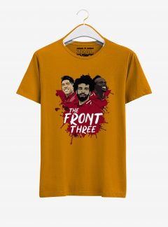 Liverpool-Salah-Mane-Firmino-Front-Three-01-T-Shirt-Men-Yellow-Hanging
