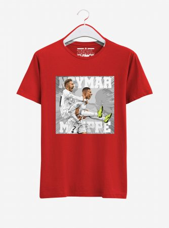 Neymar-and-Mbappe-Graphic-T-Shirt-01-Men-Red-Hanging